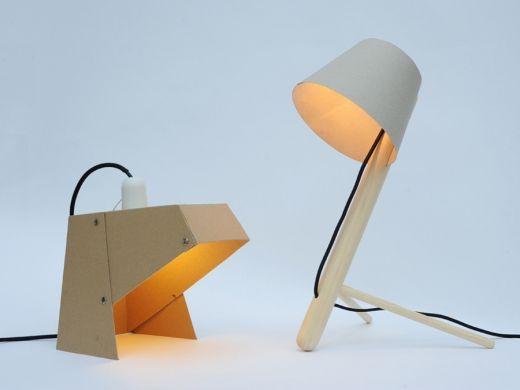 mylamp pinelamp and sheet  by madebywho #Lighting