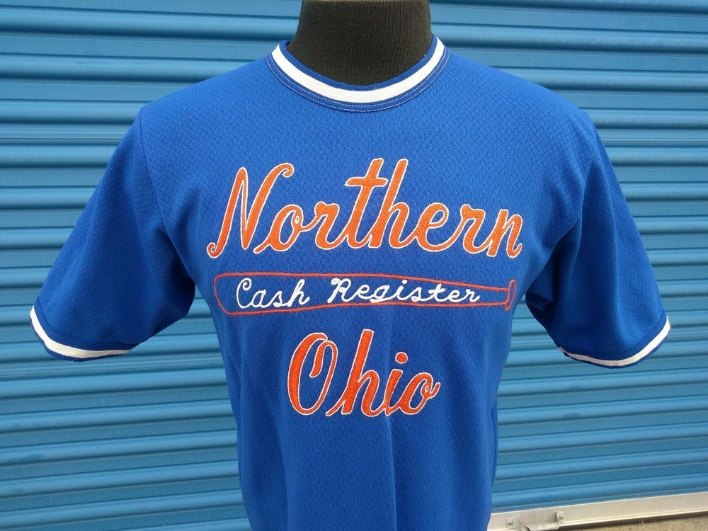 Vintage Blue Orange Softball/Baseball Game Jersey Southern
