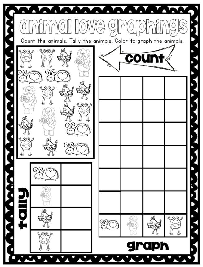 Tally Graphing Worksheet Freebie – Graphing Worksheet Kindergarten