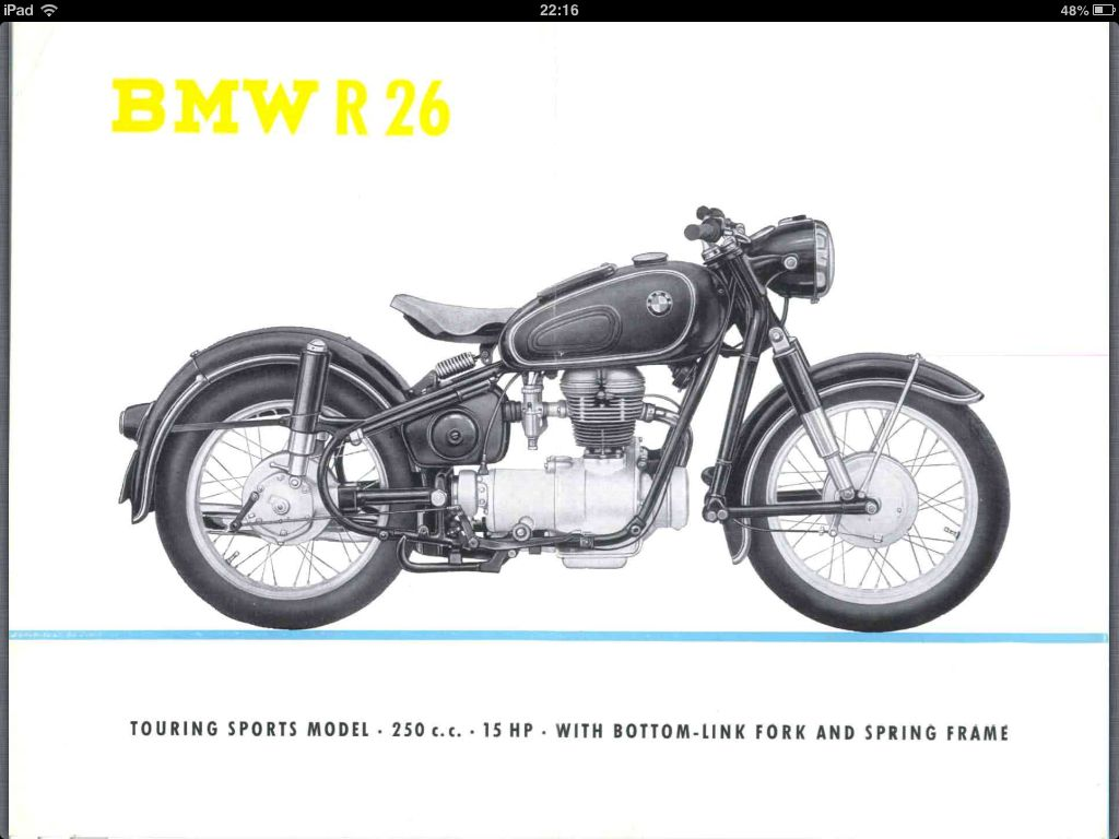Bmw R26 Brochure Page
