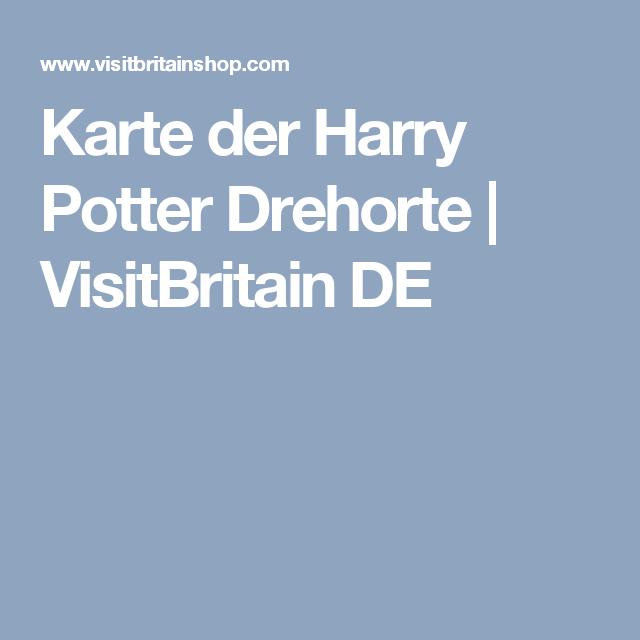 Karte Der Harry Potter Drehorte Visitbritain De Harry Potter Orte Schottland