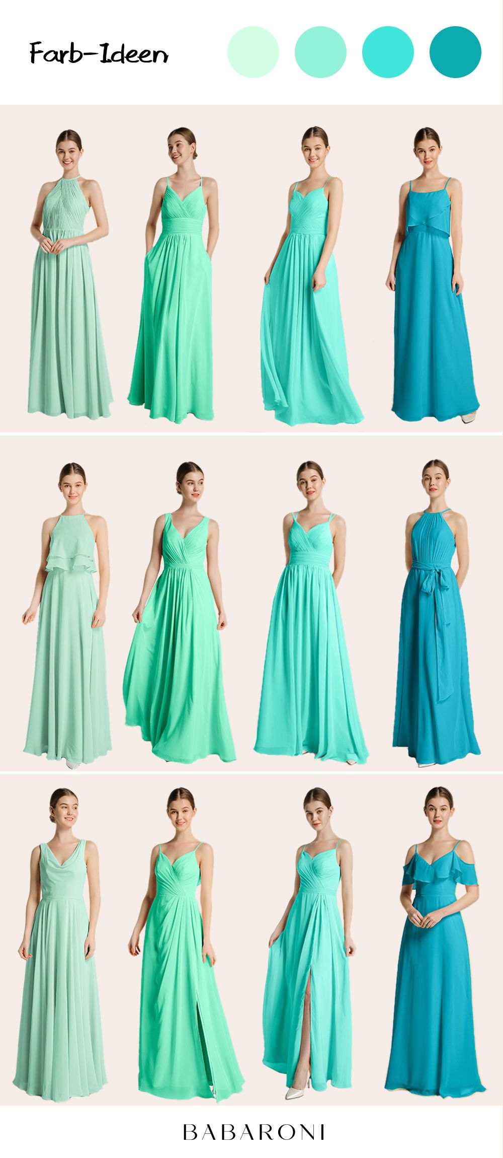 Brautjungfernkleider in 12  Brautjungfern kleider