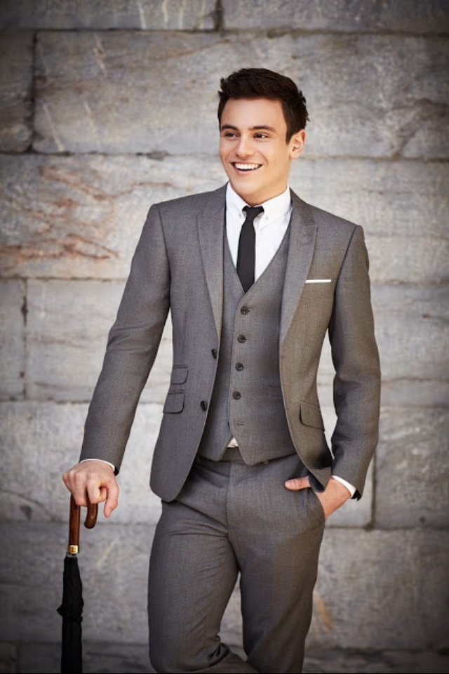 1f0d33eda1760 Tom Daley fashion icon | Style in 2019 | Mens fashion, Mens suits ...