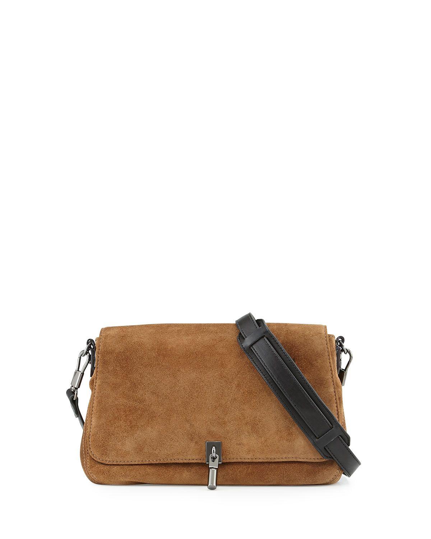 4350d1fcff Cynnie Mini Suede Crossbody Bag