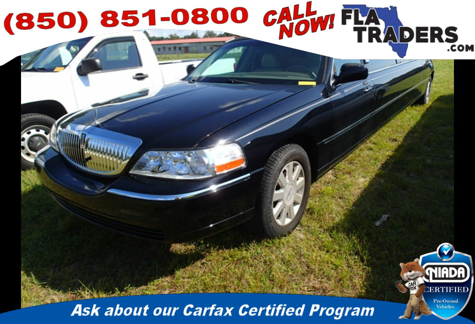 2005 LINCOLN TOWN CAR - Florida Traders Used Cars in Panama City FL ...