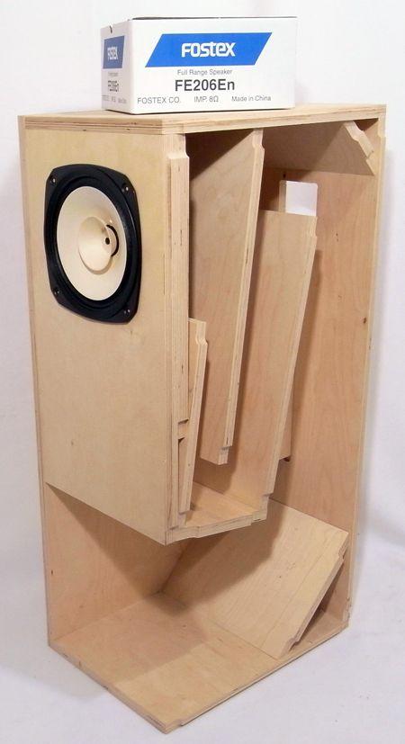 Fostex BK-20 Folded Horn Kit - Pair | Speakers | Speaker