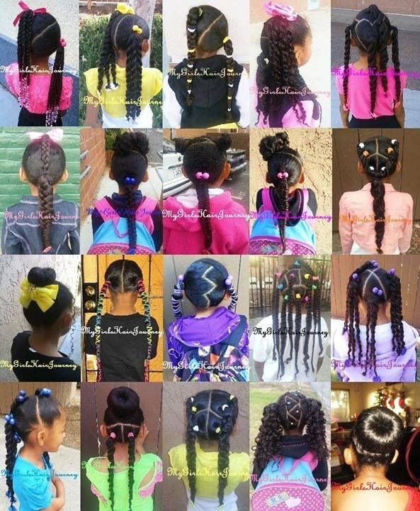 Pin On Biracial Kids Hair Care And Hair Styles