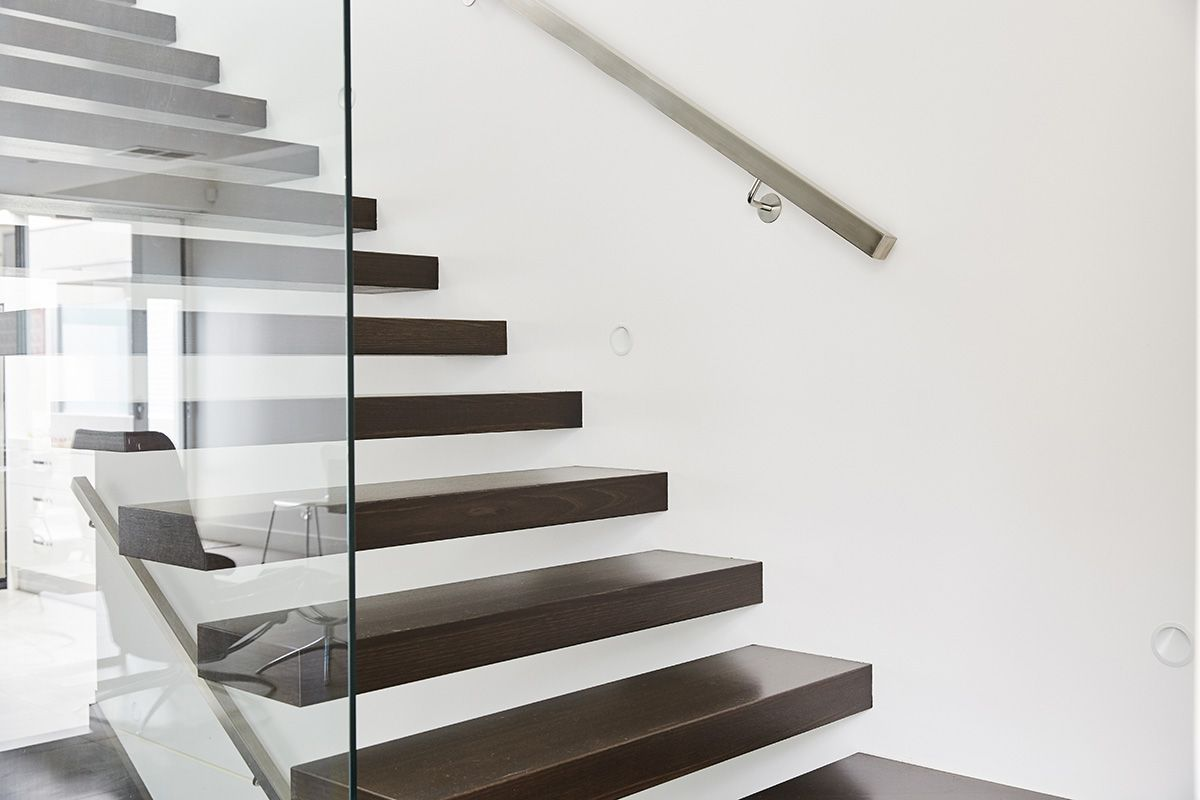 Cantilevered Stairs Floating Staircase