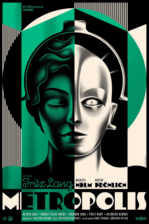 Metropolis Film Poster On Behance In 2020 With Images Metropolis Plakat Plakaty Filmowe