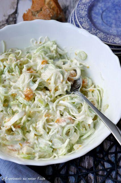 Fruchtiger Porree Salat | Lauchsalat, Porreesalat und Essen ...