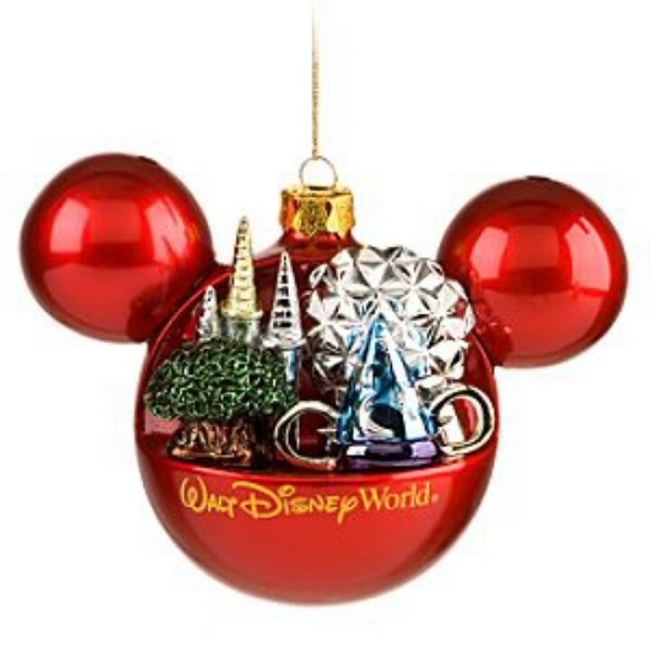 Walt Disney World Christmas Ornament Disney Christmas Ornaments Disney World Christmas Mickey Mouse Ornaments