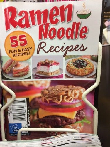 Ramen Noodle-Based Recipes: Officially Jumping the Shark