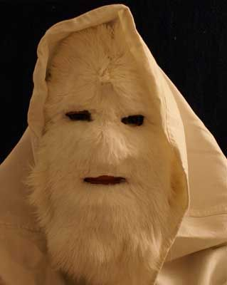 Make an Abominable Snowman Mask. | Halloween costumes, Costumes ...
