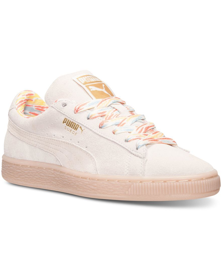 finish line puma suede