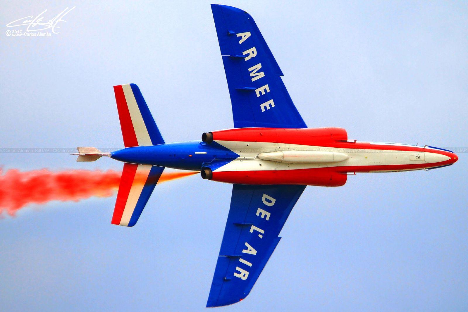 https://flic.kr/p/SsPgij   F-UHRT (s/n E152)   Dassault / Dornier Alpha Jet Armee de L'Air (Patrouille de France) #7