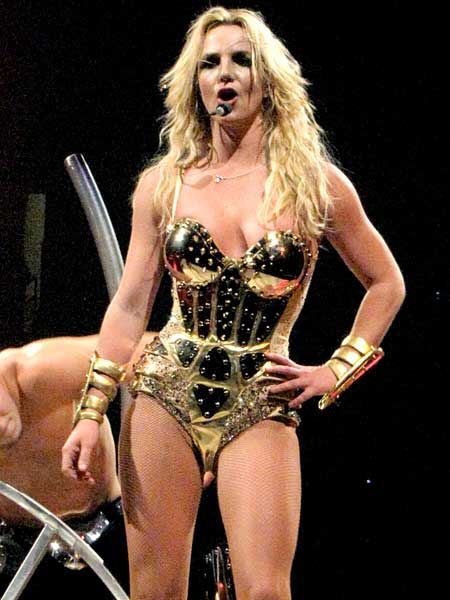 Image result for britney spears circus tour metal