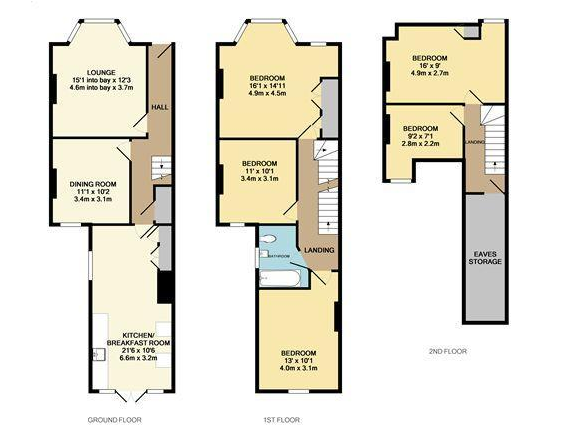 Victorian Terraced House Floor Plan Kitchen In The Back Quite Narrow Floor Plans Victorian Terrace House Floor Plans