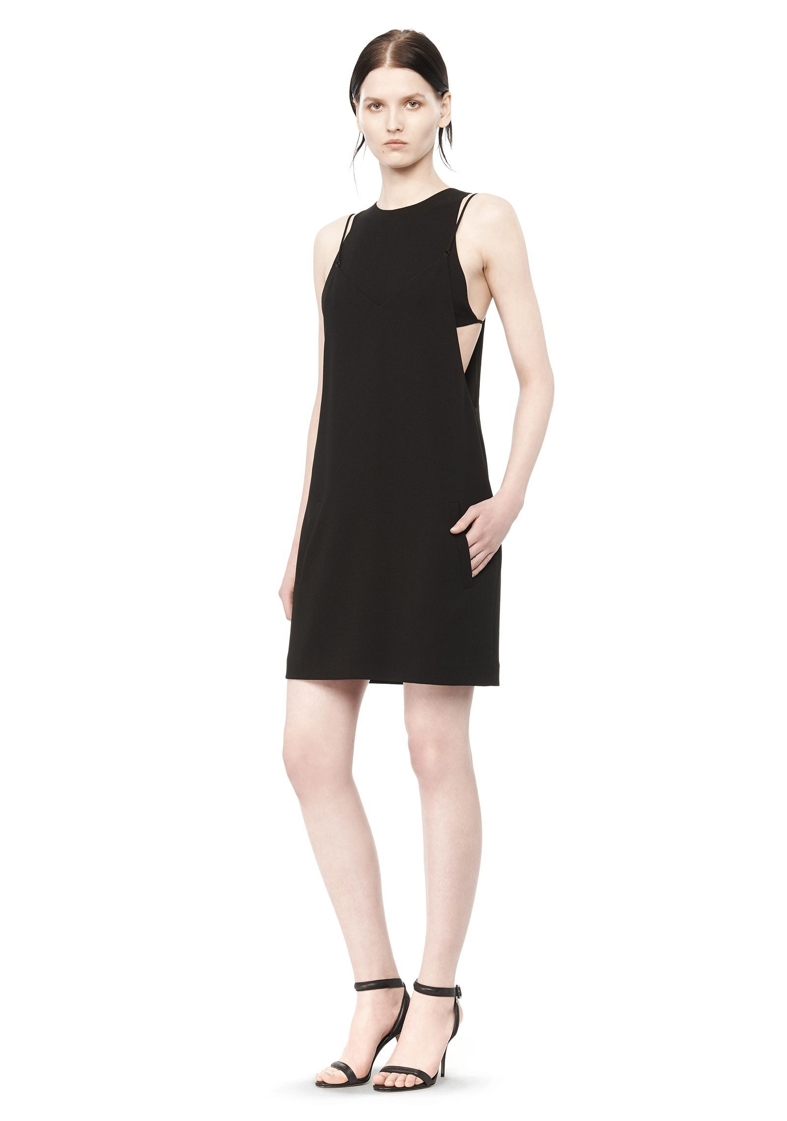 Selected Layer - Dress Women black tnYRS271