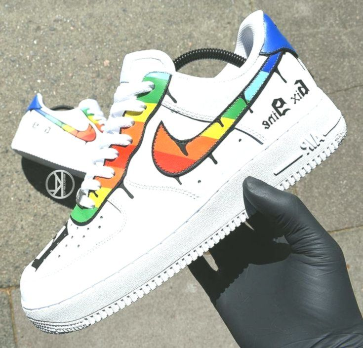 6ix9ine Nike Air Force 1 Custom | Nike air force, Nike, Nike air