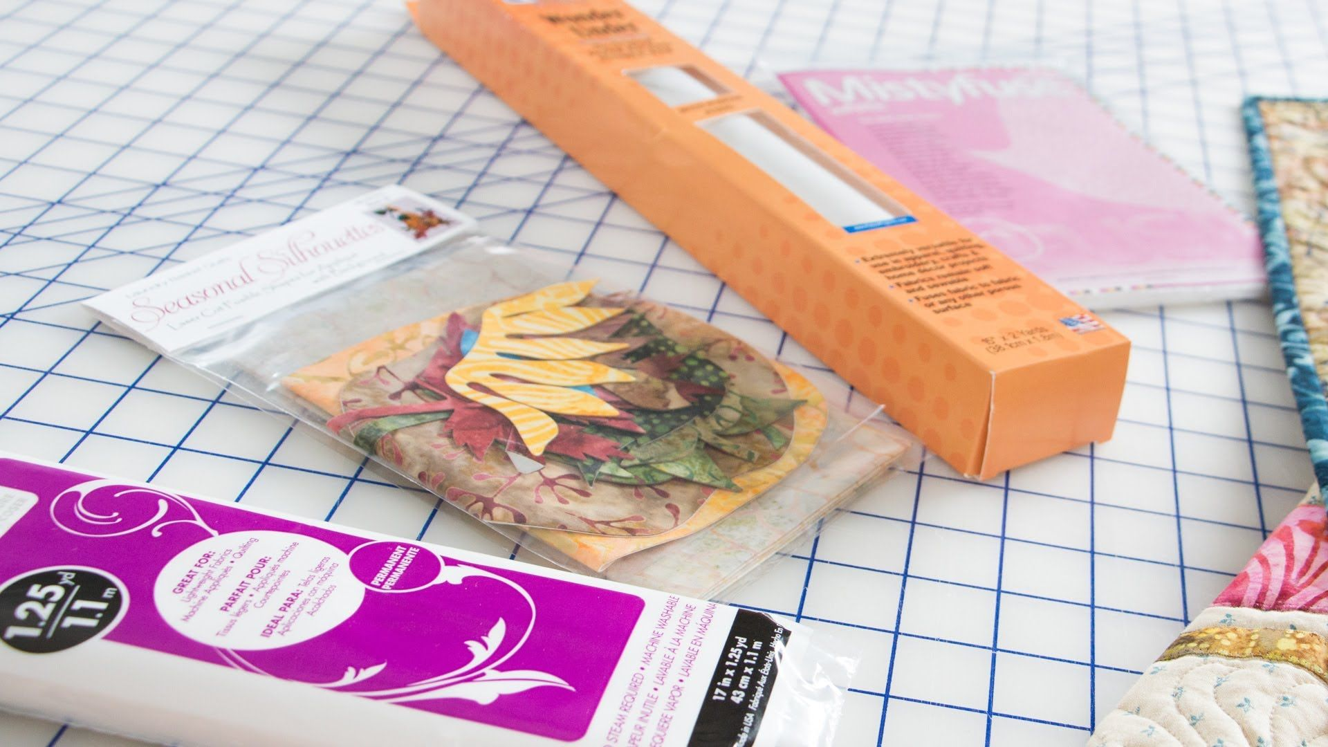 How to Choose Fusible Webbing for Your Applique Quilts by Edyta Sitar --...