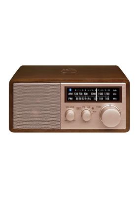 Sangean 45Th Anniversary Special Edition Am/Fm Wooden Cabinet Radio With Bluetooth. Meet the Sangean's 45th Anniversary Special Edition! Much has changed in 45 years, but not Sangean's commitment to designing and manufacturing the best radios there isto offer. With worldwide recognition for superior sound quality, performance, features and durability, the radio exemplifies Sangean's promise for true excellence.