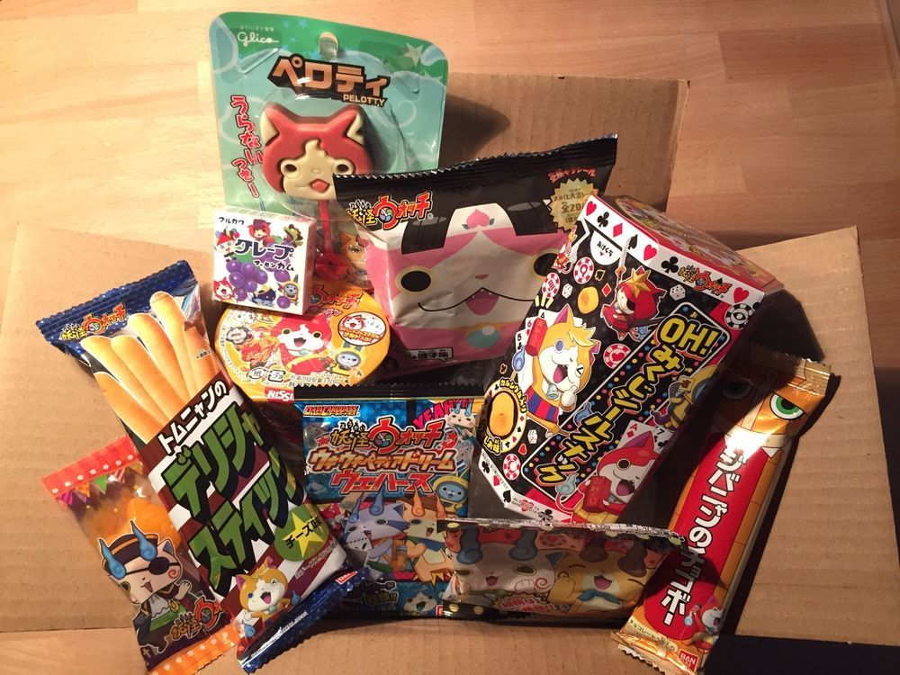 Yokai Watch Box, Candy & Snack 10 pc, Assortment, Japan