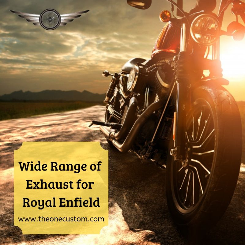 Check Out The Wide Range Of Exhaust For Royal Enfield At The One