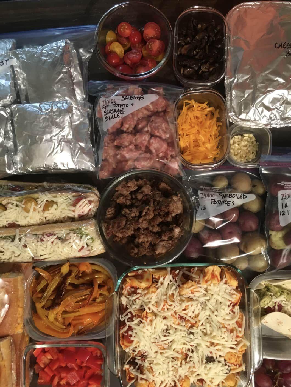 Meal prep plan how to bulkprep 2 weeks of costco meals
