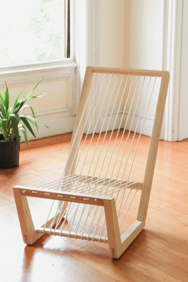 Best Minimalist Lounge Chair In Three Strokes Wood Chair 400 x 300