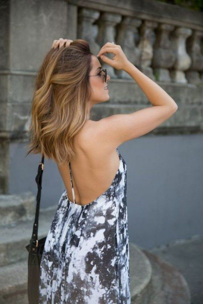 Balayage blond ou caramel pour vos cheveux ch tains balayage haircut style and hair style - Balayage pour brune ...