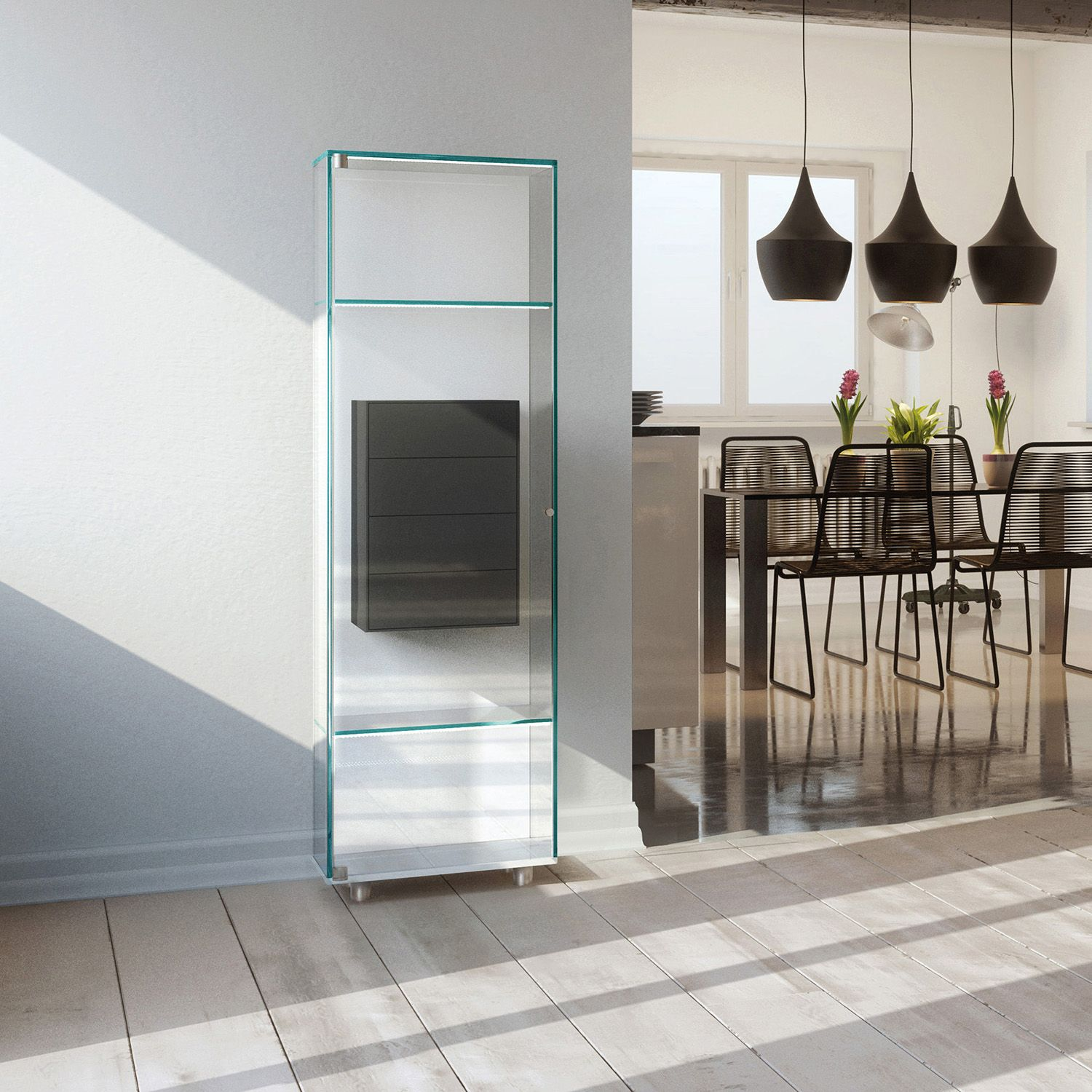 Glasvitrinen Ladenbau Glasvitrine Solus Fly: Ein Weiteres Design-highlight Aus ...