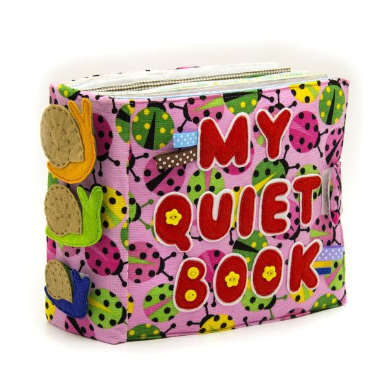 My Quiet Book for kids, Development Montessori activity busy toy, Eco friendly Educational Baby gift on Custom