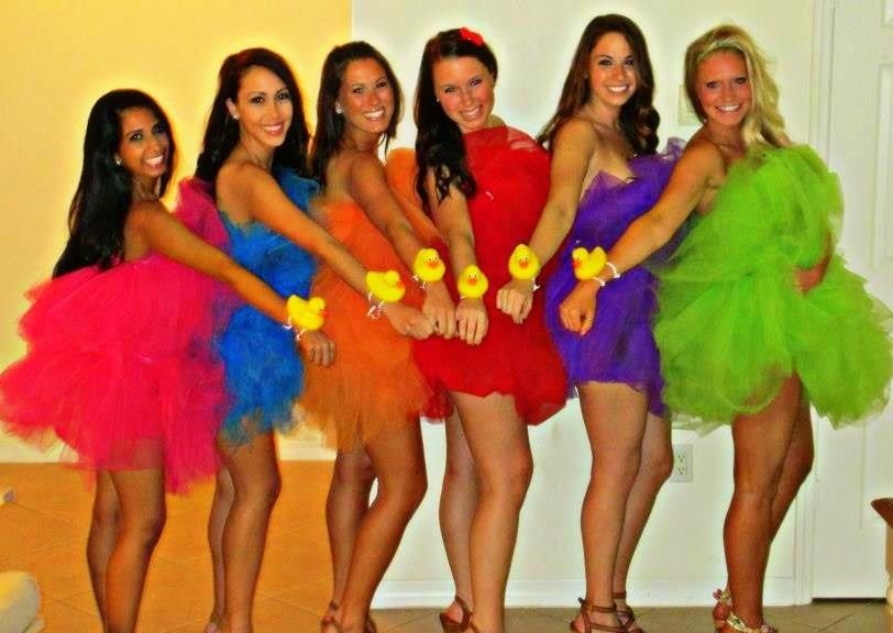 Our loofah halloween costumes things i need to make pinterest 24 cheap and easy diy group costumes for halloween solutioingenieria Gallery