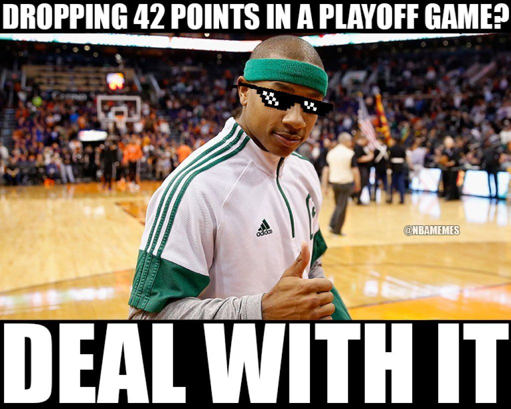 Funny Memes For Haters : Rt nbamemes isaiah thomas has a message for celtics haters