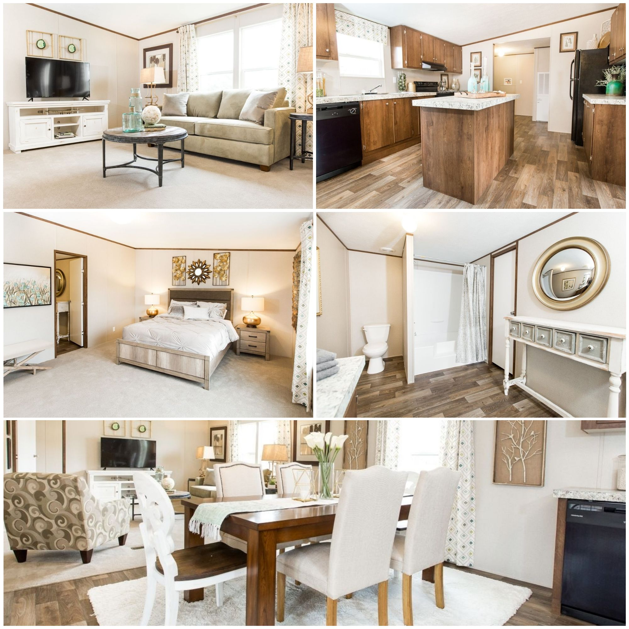4 Bedroom Mobile Home Starting At Just $52,499