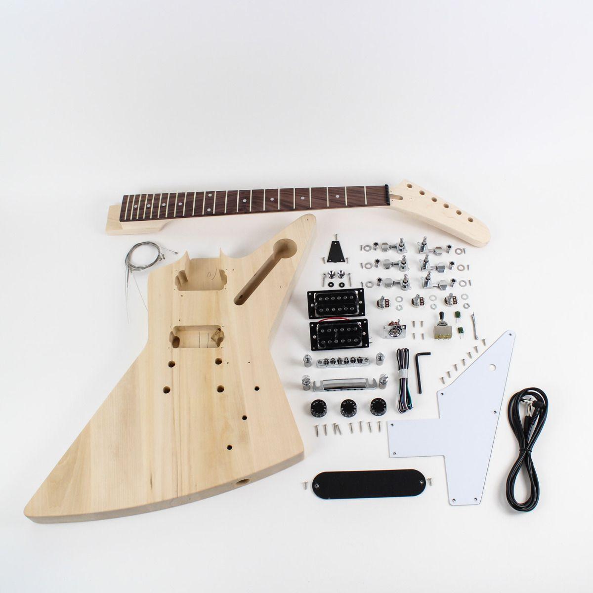 Gibson Explorer Diy Electric Guitar Kit 10 Guitar Kits Gibson Explorer Solar Energy Diy