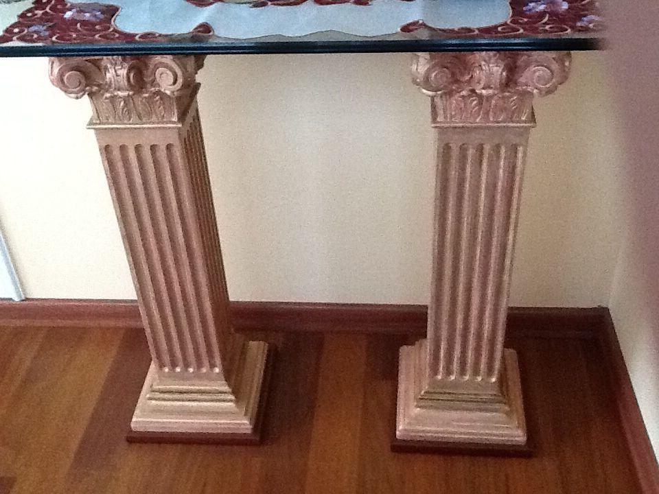Columnas De Yeso Decoradas Diy For Home En 2019