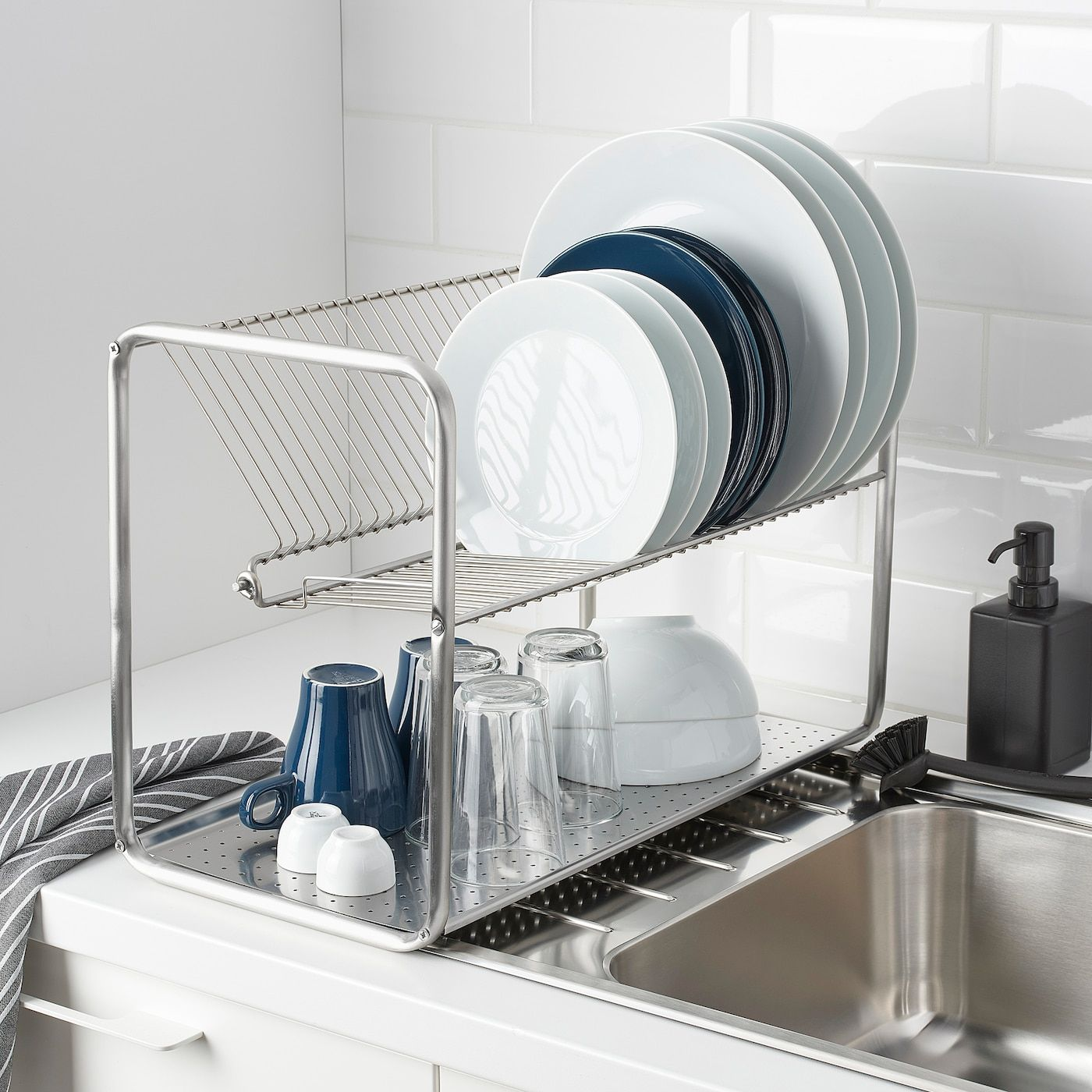 Ikea Ordning Dish Drainer In 2020 Ikea Dish Drainers