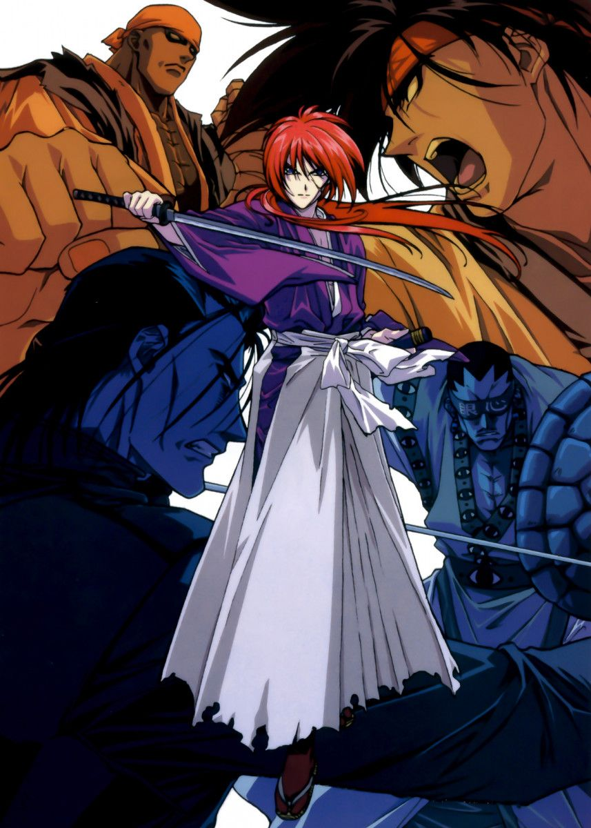 'Anime Samurai X Kenshin' Poster Print by Team Awesome