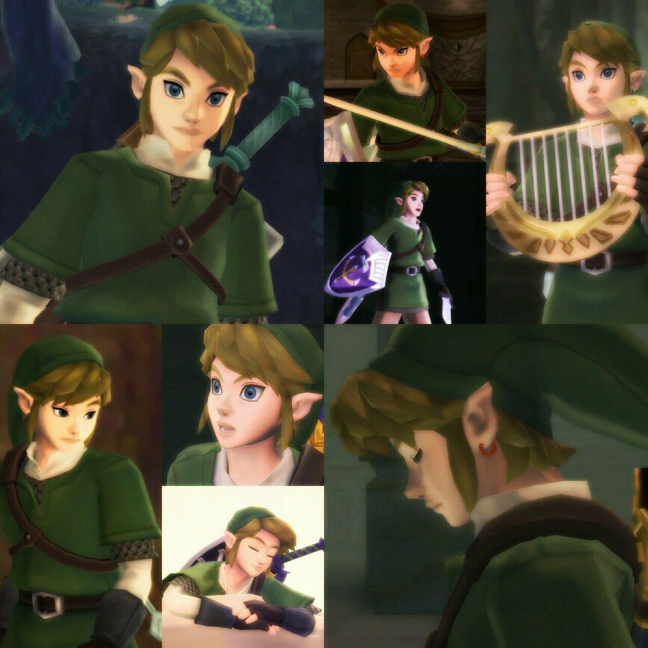 Link from SS is adorable Legend of Zelda Pinterest Twilight