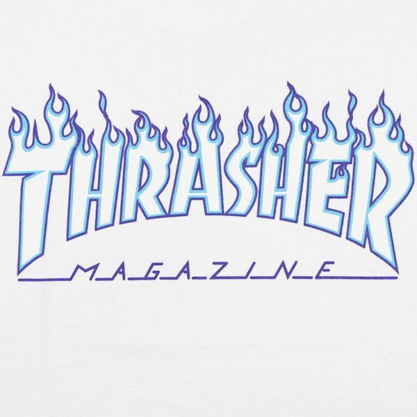 Thrasher Thrasher Flame 3 C Tee White White White White Slasher T 36 Liked On Polyvore Featuri Graffiti Lettering Lettering Graffiti Lettering Fonts