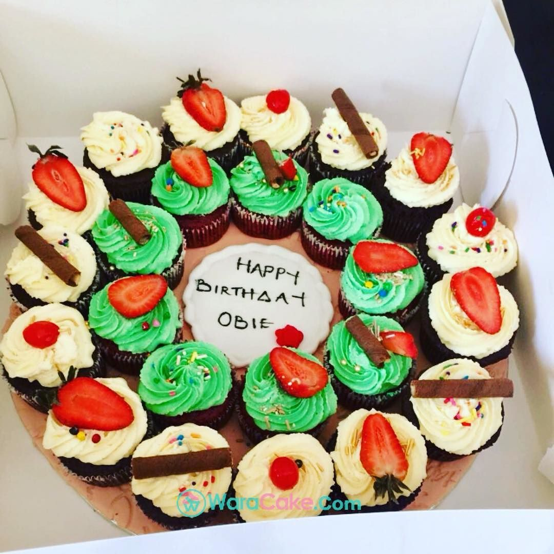 Todays Delivery In Apo Abuja The Are All Cupcakes Birthday Cake