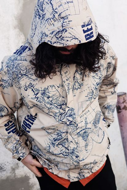 Supreme x the north face 2012 springsummer collection lookbook the north facesupreme venture jacket gumiabroncs Images