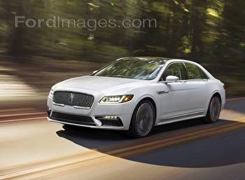 Fordimages 2017 Lincoln Continental Posters and Framed Art