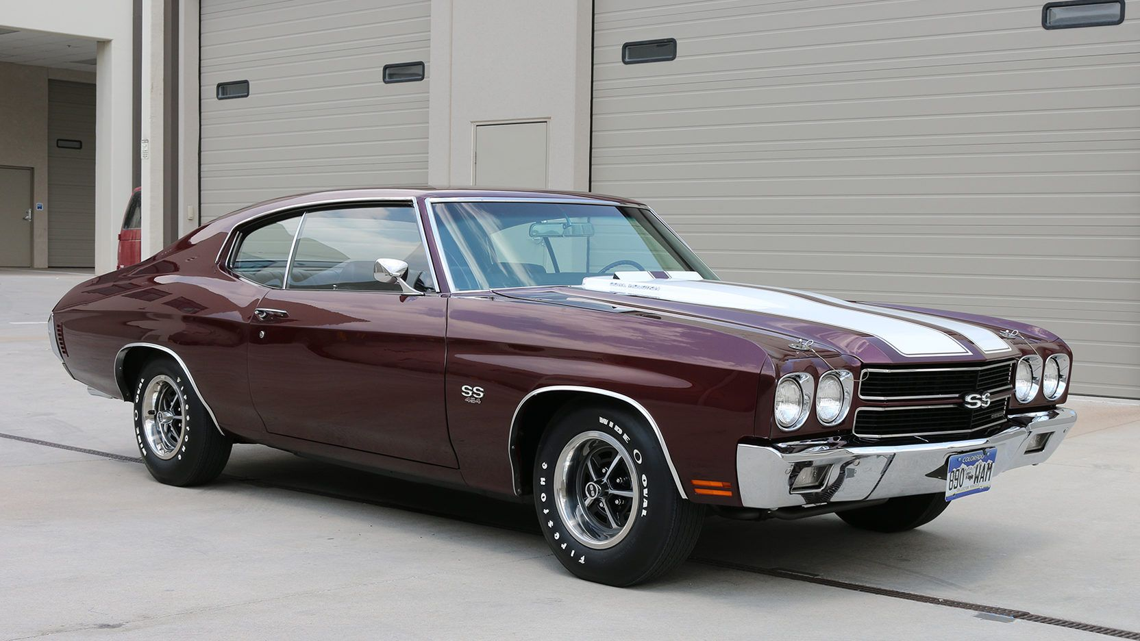 Auction Lot F126 Denver Co 2017 Matching Numbers 454 360 Hp Ls5 Engine M21 4 Speed Transmission Listed In Th Chevelle Chevrolet Chevelle Chevy Muscle Cars