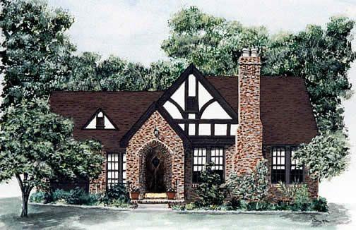 Realistically Sized Tudor Home