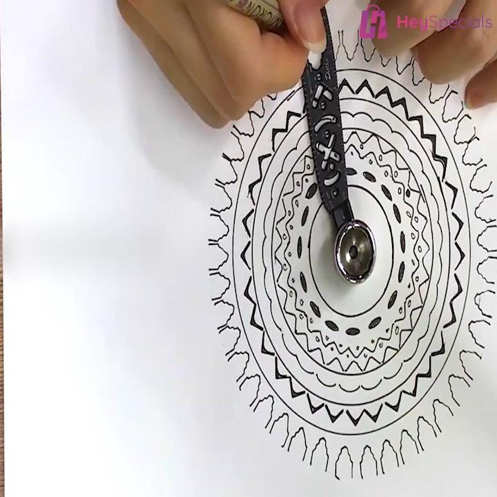 ➡➡ Multifunctional Magnetic Drawing Ruler