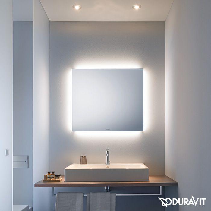Duravit Spiegel Mit Indirekter Led Beleuchtung Better Version