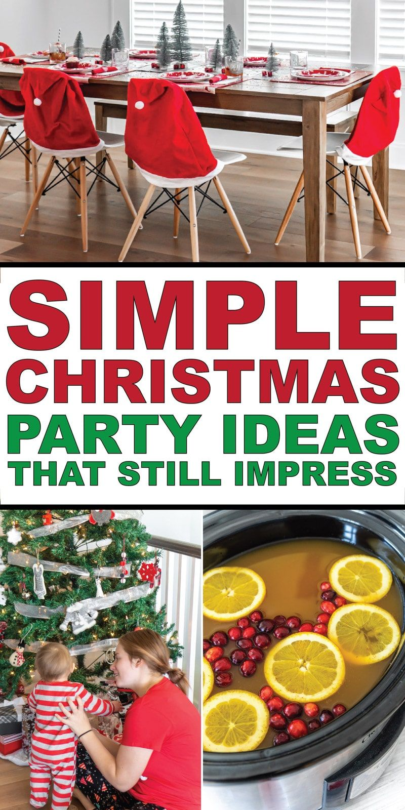 Easy Christmas Party Ideas to Amp Up Your Festivities