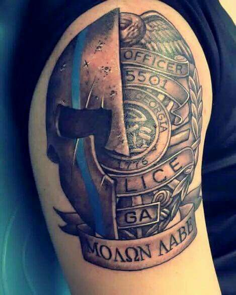 Pin By Flo 0619 On Ooo Tattoos Police Tattoo Fire Fighter Tattoos Cop Tattoos